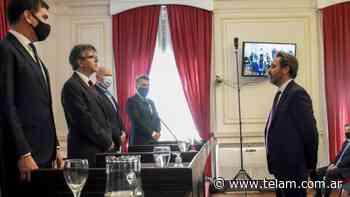 Alejo Ramos Padilla juró como juez federal de La Plata, con competencia electoral en Buenos Aires - Télam