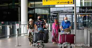 Brits must prove valid reason for foreign travel from Monday - or risk £200 fine