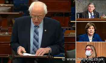 Bernie Sanders' attempt to add $15 minimum wage to COVID relief bill fails