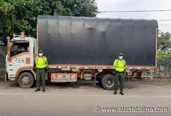 En Coyaima recuperaron camión y su carga avaluados en 252 millones - Alerta Tolima