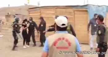 Huaura: Policía desaloja a personas que invadieron sitio arqueológico de Hualmay - América Televisión