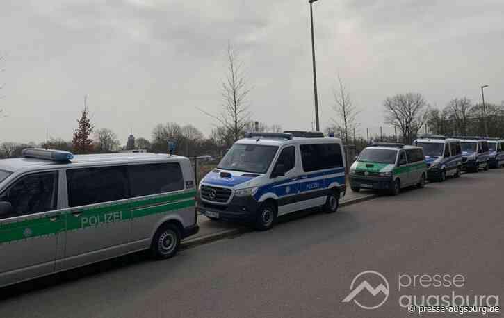Nach Angriff im Reese-Park | Augsburger Polizei verhaftet 21-jährigen mutmaßlichen Messerstecher