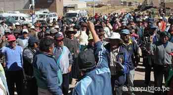 Puno: vecinos realizan masiva protesta contra presunto estafador en Macusani - LaRepública.pe