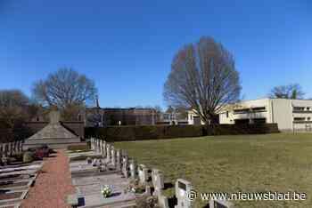 Stilte- en troostplek verschijnt op oud kerkhof (Vosselaar) - Het Nieuwsblad