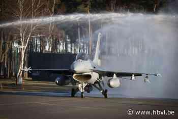 Piloot Kleine Brogel is eerste Europeaan met meer dan 5000 vlieguren met F-16