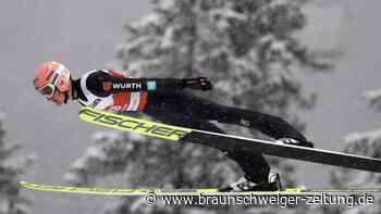 Skispringen: WM-Teamwettbewerb mit Freund -Geiger Schlussmann