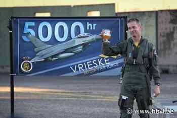 Vrieske is enige Europese piloot met 5.000 vlieguren in F-16