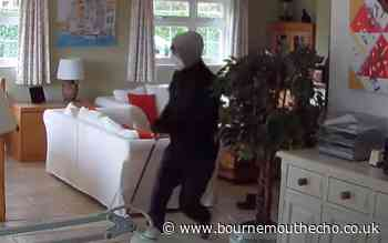 WATCH: Shocking footage of masked men raiding family home - Bournemouth Echo