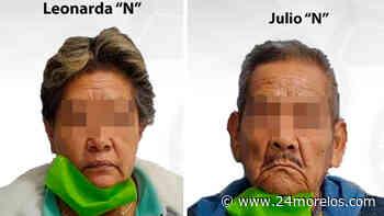 Detienen a abuelitos tras cateo en Tepalcingo - 24 Morelos