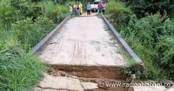 Invierno deja incomunicadas varias veredas por daño en puente de Icononzo, Tolima - Radio Nacional de Colombia