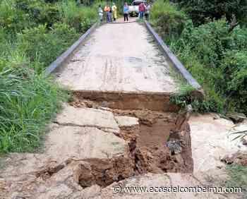 En Icononzo dos veredas se encuentran incomunicadas por caída de un puente - Ecos del Combeima