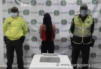 A una jovencita le hallaron 5 mil dosis de marihuana en Venadillo - Alerta Tolima