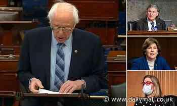 Covid Relief Bill: Bernie Sanders' attempt to add $15 minimum wage fails