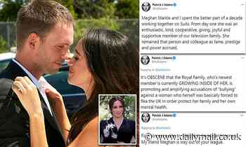 Meghan Markle's Canadian Suits co-star Patrick Adams attacks royals on Twitter
