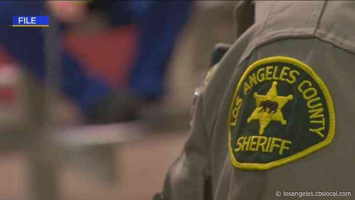 LA County Sheriff's Department Holds Vaccine Clinic For Deputies, Employees At Pomona Fairplex