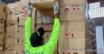 Lo que encontró Policía tras requisar cajas que eran supuestas donaciones para hogar de ancianos - Noticias Caracol