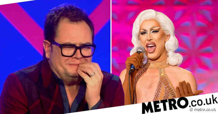 Drag Race UK: Judge Alan Carr's 'phone went into meltdown' over A'Whora's X-rated joke