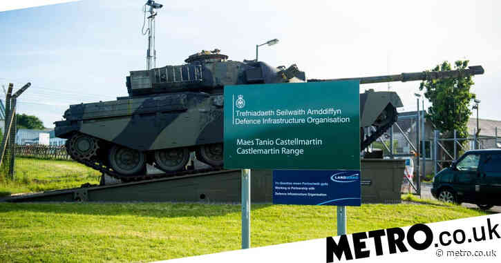 British soldier killed in fatal shooting accident on Welsh training range