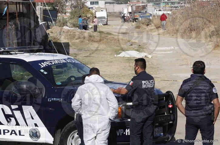 Localizan cadáver de un hombre en la colonia San Cristóbal Tulcingo - 24 Horas El Diario Sin Límites Puebla