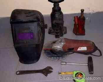 Recuperaron herramientas robadas en San Cristóbal - El Departamental