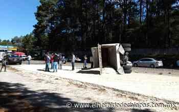 5 lesionados deja accidente sobre el tramo San Cristóbal-Teopisca - El Heraldo de Chiapas