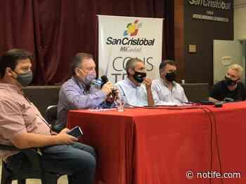 Presentaron Proyectos de Obras en la ciudad de San Cristóbal - Noti Fe