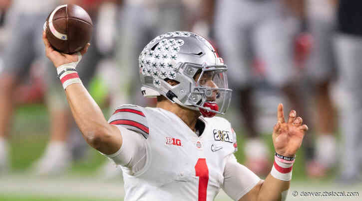 CBS Sports Mock Draft: Broncos Trade With Dolphins For Ohio State Quarterback Justin Fields