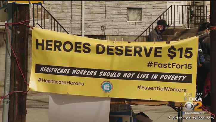 Pittsburgh-Area Caregivers Asking Lawmakers To Increase Minimum Wage End 48-Hour Fast