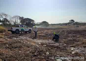 Autoridad de Aseo continúa trabajos de adecuación en el vertedero de Pedasí - En Segundos