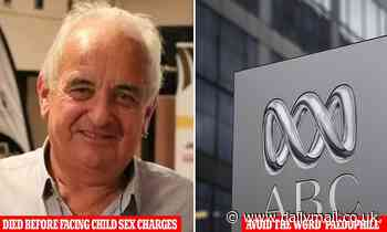 ABC reporters told to avoid the word 'paedophile' so child sex predators don't feel 'marginalised'