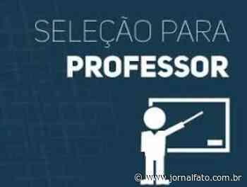 Muniz Freire abre processo seletivo na área da educação - Jornal FATO