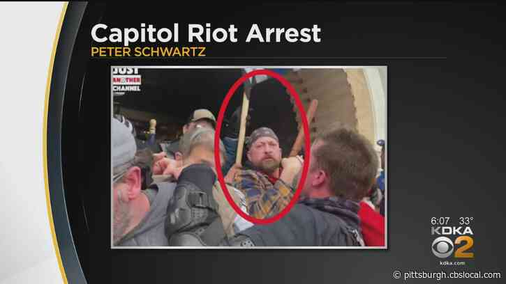 Kentucky Man Living In Uniontown Indicted For Alleged Role In Capitol Attack