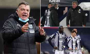 West Brom boss Sam Allardyce SLAMS the Premier League for 'helping us to get relegated'