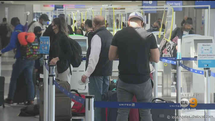 LAX Seeing 'Noticeable Uptick' In Travelers Ahead Of Spring Break Though Travel Advisory Remains In Effect