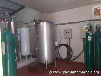 Planta de oxígeno instalada en hospital de Ayaviri no abastece con dicho insumo al área covid - Pachamama radio 850 AM