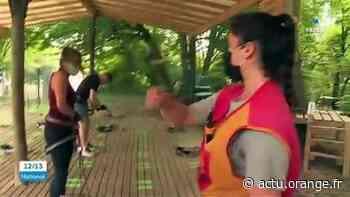 Val-d'Oise : réouverture de l'accrobranche de Viarmes - Actu Orange