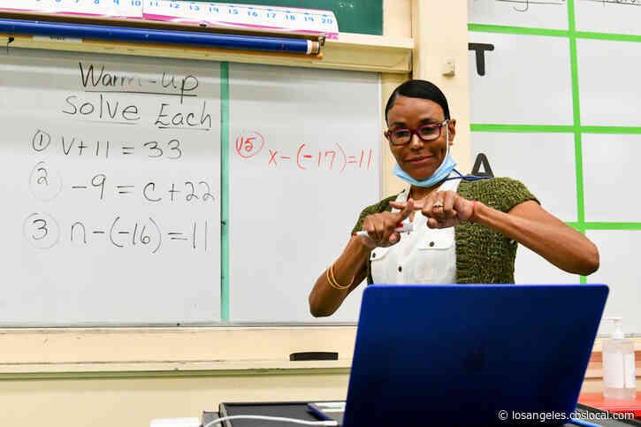 LA Teachers Warn Of Possible Strike If LAUSD Returns To Class In April