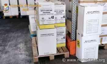 Rutigliano (Bari), illecito smaltimento di rifiuti: sequestrate 10 tonnellate di farmaci scaduti - Nurse Times