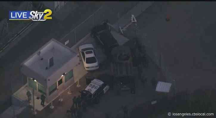 Stolen Vehicle Suspect Surrenders After Nearly 5 Hour Standoff In San Clemente