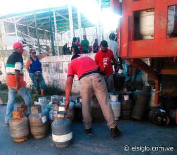 Aragua Gas entregó 3300 cilindros en comunidades de Cagua - Diario El Siglo