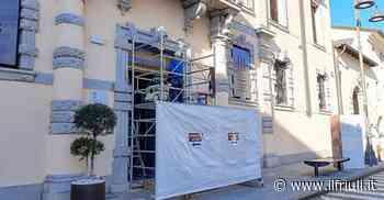 Cividale, cominciato il restauro del portone di Palazzo de Nordis - Il Friuli