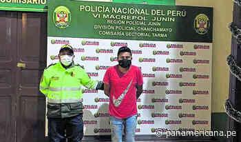 Intento de feminicidio en Tarma: capturan sujeto acuchilló a su conviviente | Panamericana TV - Panamericana Televisión