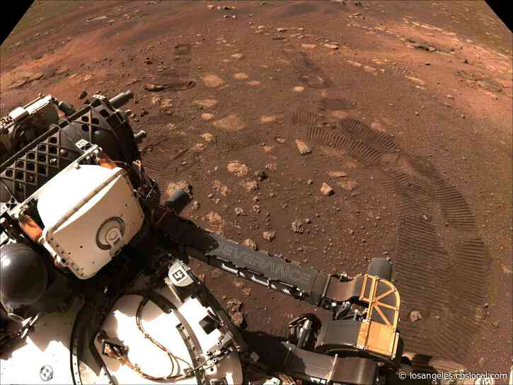 Perseverance On The Move: Mars Rover Completes First Test Drive On Red Planet