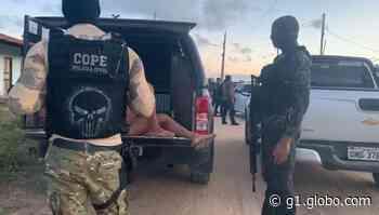Polícia prende três suspeitos de envolvimento em explosão de banco em Pacatuba - G1