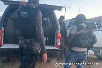 Presos 3 em flagrante por envolvimento em explosão no BB de Pacatuba - NE Notícias