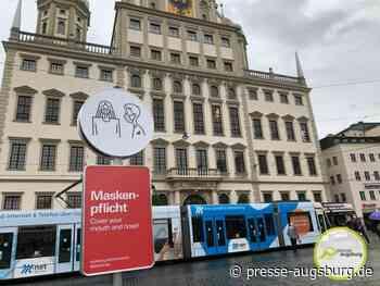 Verstöße gegen Maskenpflicht werden in Augsburg jetzt strenger geahndet
