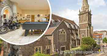 Grand Designs-style home in converted church on sale for £1m