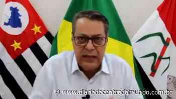 """VÍDEO: Prefeito de Pirassununga (SP) critica negacionistas """"idiotas"""" da pandemia: """"Zóio tapado"""" - Diário do Centro do Mundo"""