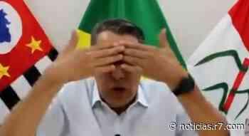 Prefeito de Pirassununga viraliza ao alertar sobre colapso: 'Zóio tapado' - R7.COM