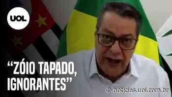 Covid-19: prefeito de Pirassununga chama negacionistas de 'zóia tapado' - UOL Notícias